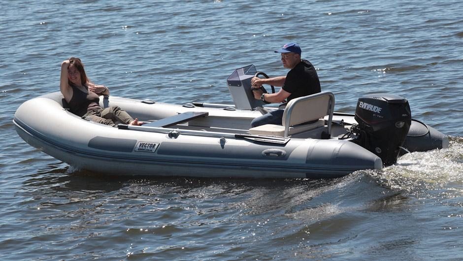 Rigid inflatable boat RIB 450