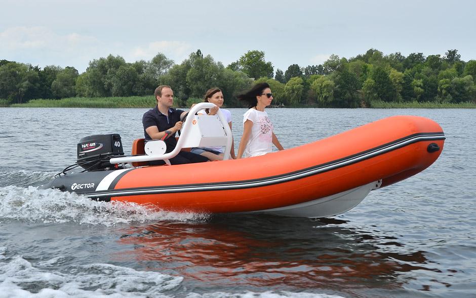 Rigid inflatable boat RIB 450